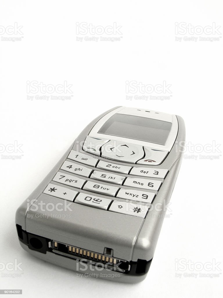 Cell phone - mobile royalty-free stock photo