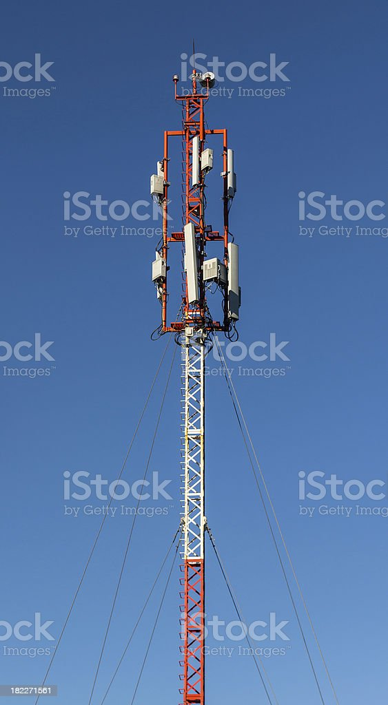 Cell tower. royalty-free stock photo