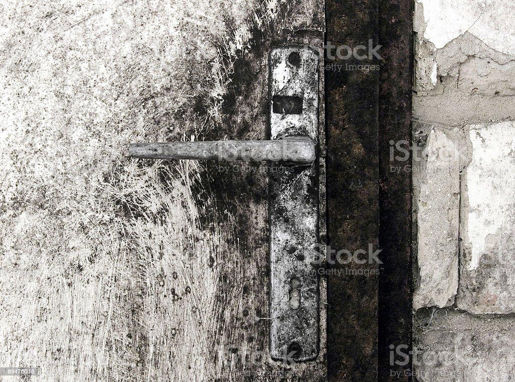 Cellar door royalty-free stock photo