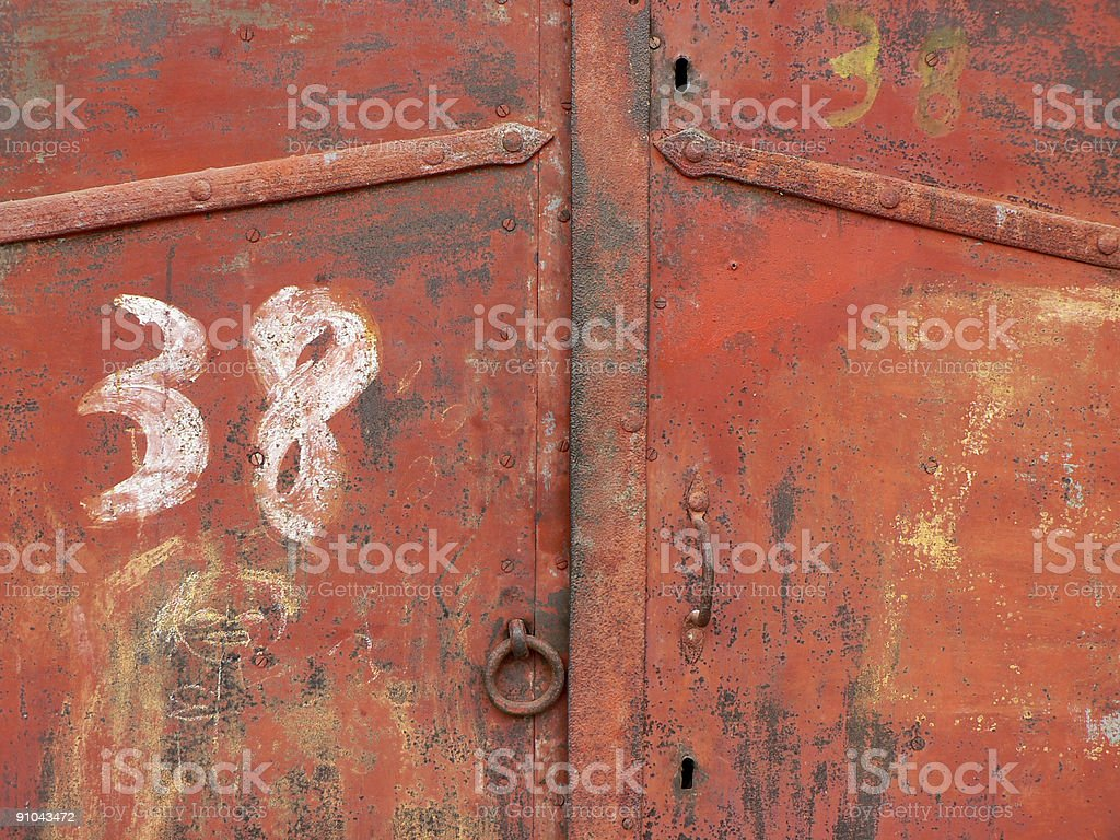 Cellar Door royalty-free stock photo