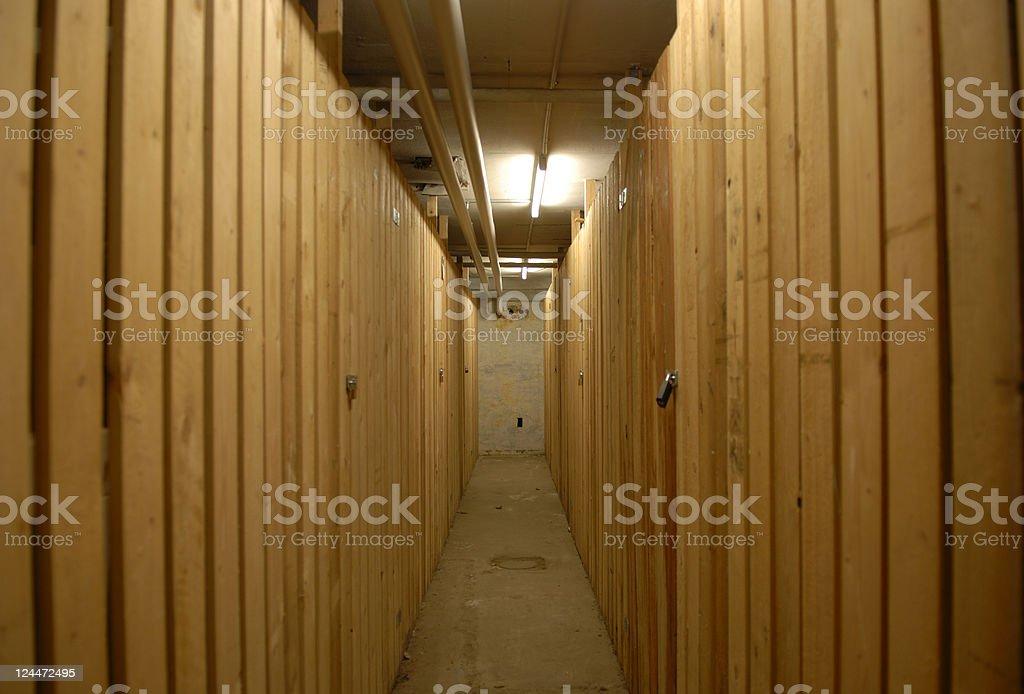 Cellar Storage royalty-free stock photo