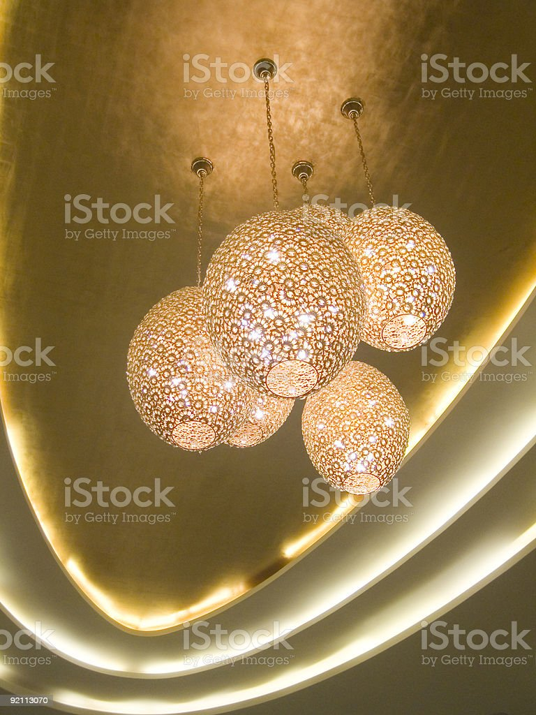 Celling lighting royalty-free stock photo