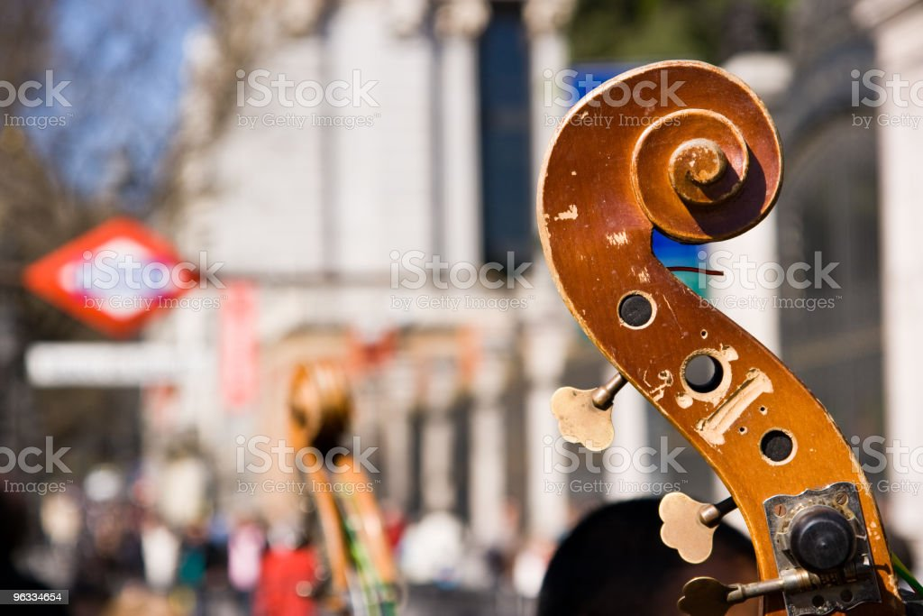 Cello close-up royalty-free stock photo