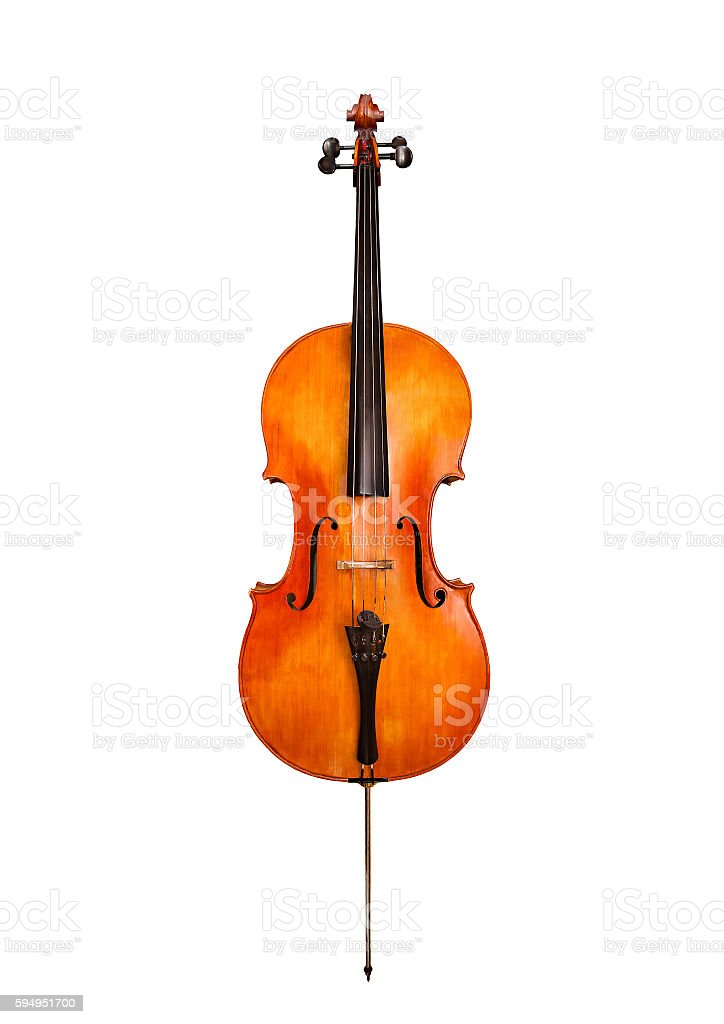 Cello stock photo