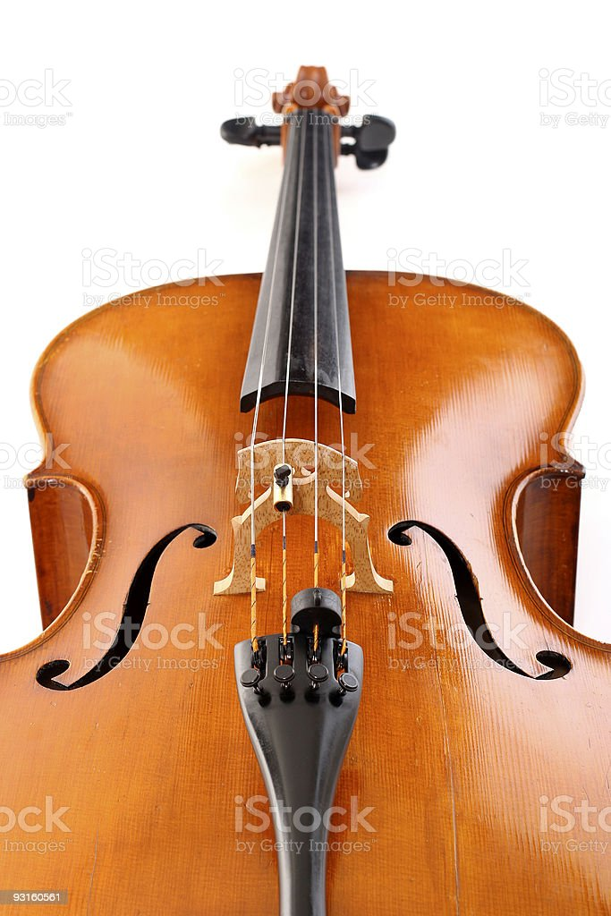 Cello royalty-free stock photo