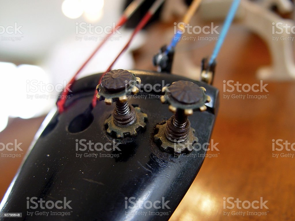 cello tuners royalty-free stock photo