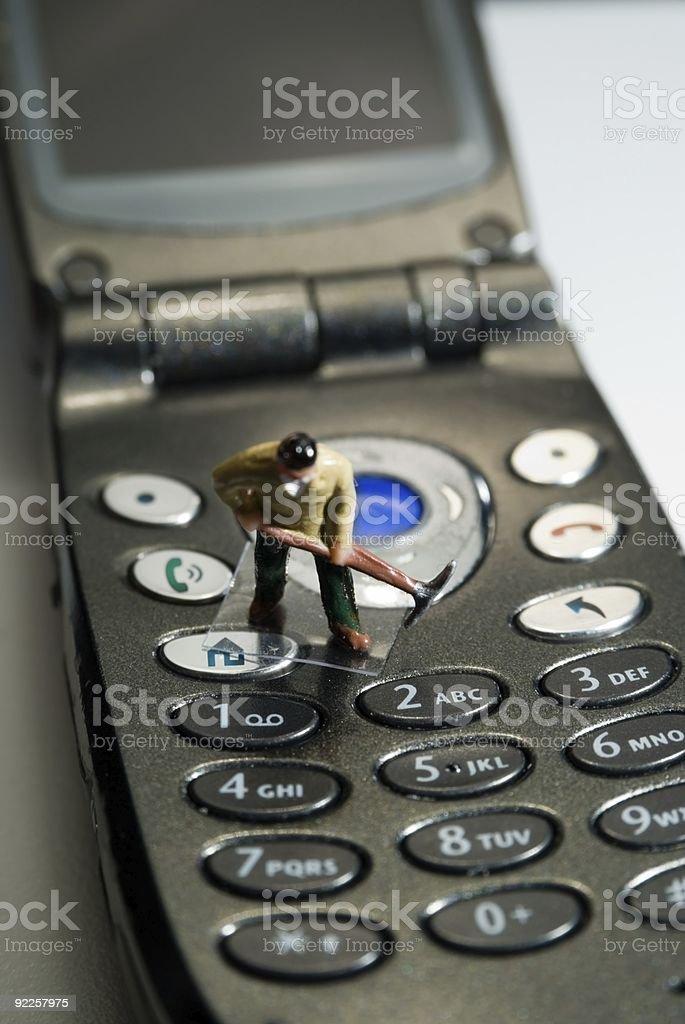 cellphone keypads stock photo