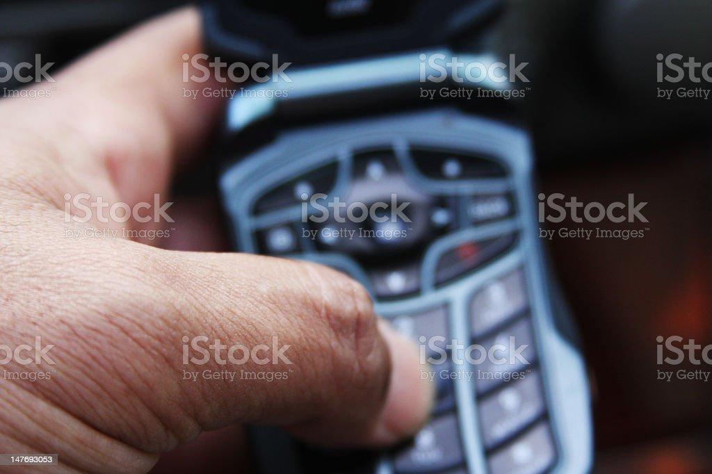 Celluar Phone Service stock photo