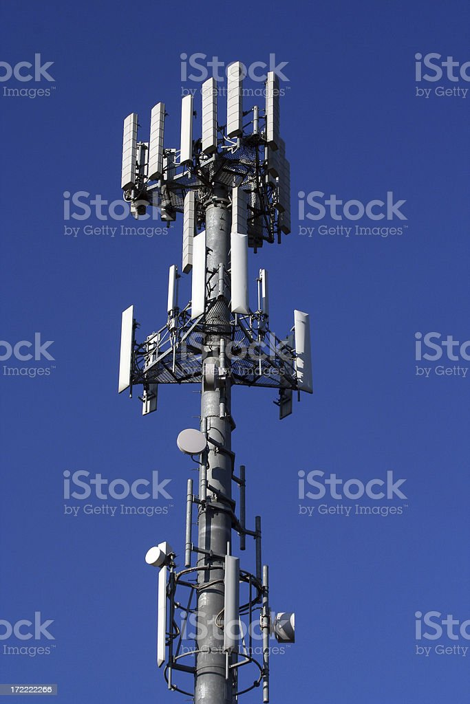 Cellular Antenna stock photo