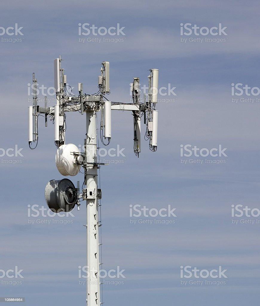 Cellular Communications Array stock photo