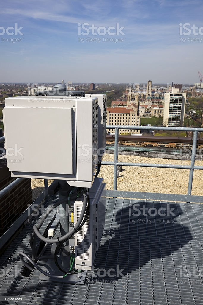 Cellular equipment stock photo