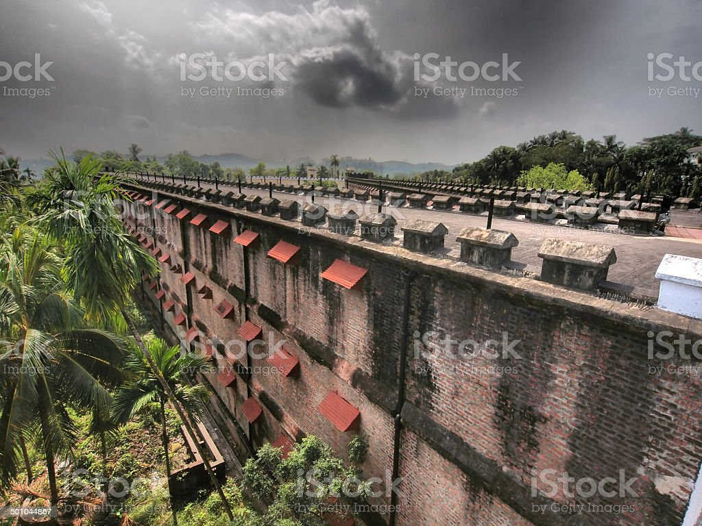 Cellular Jail stock photo