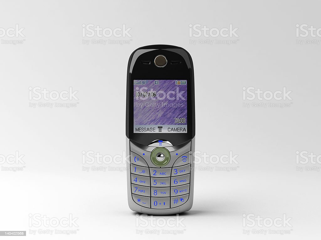 cellular phone royalty-free stock photo