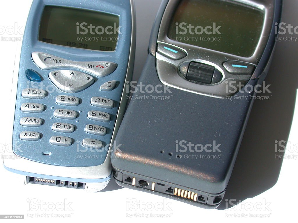 Cellular phones royalty-free stock photo