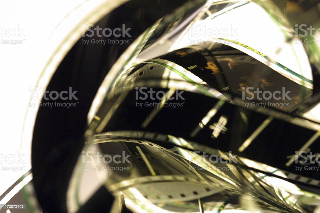 Celluloid Film Series royalty-free stock photo