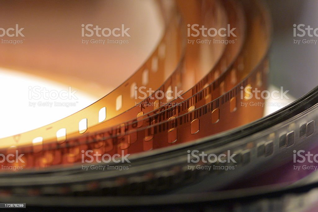 Celluloid Film Series stock photo