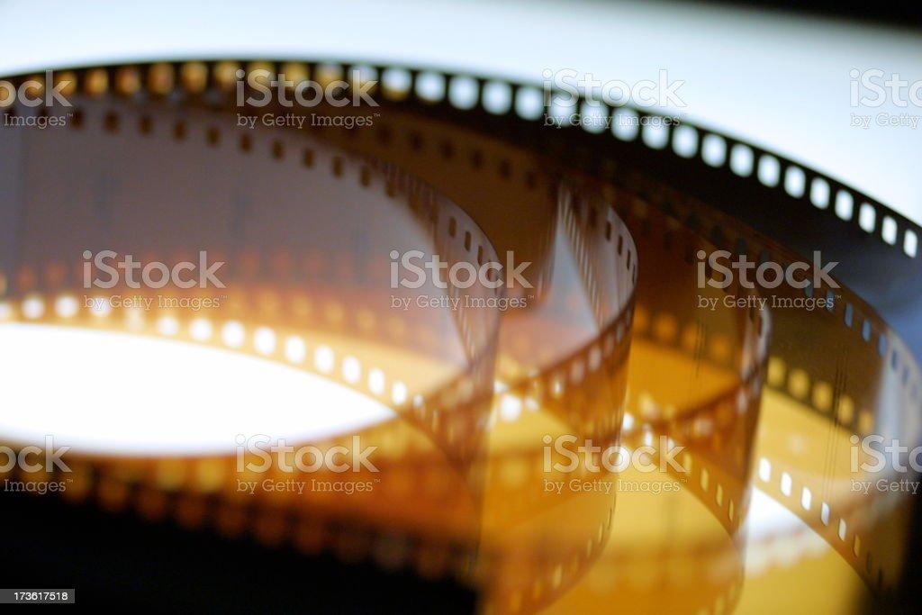 Celluloid Film Series stock photo