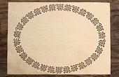 celtic border parchment paper cut knotwork background