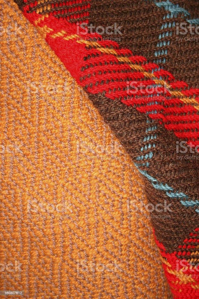 Celtic Clothing stock photo