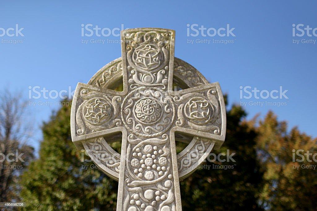 Celtic Crooss stock photo