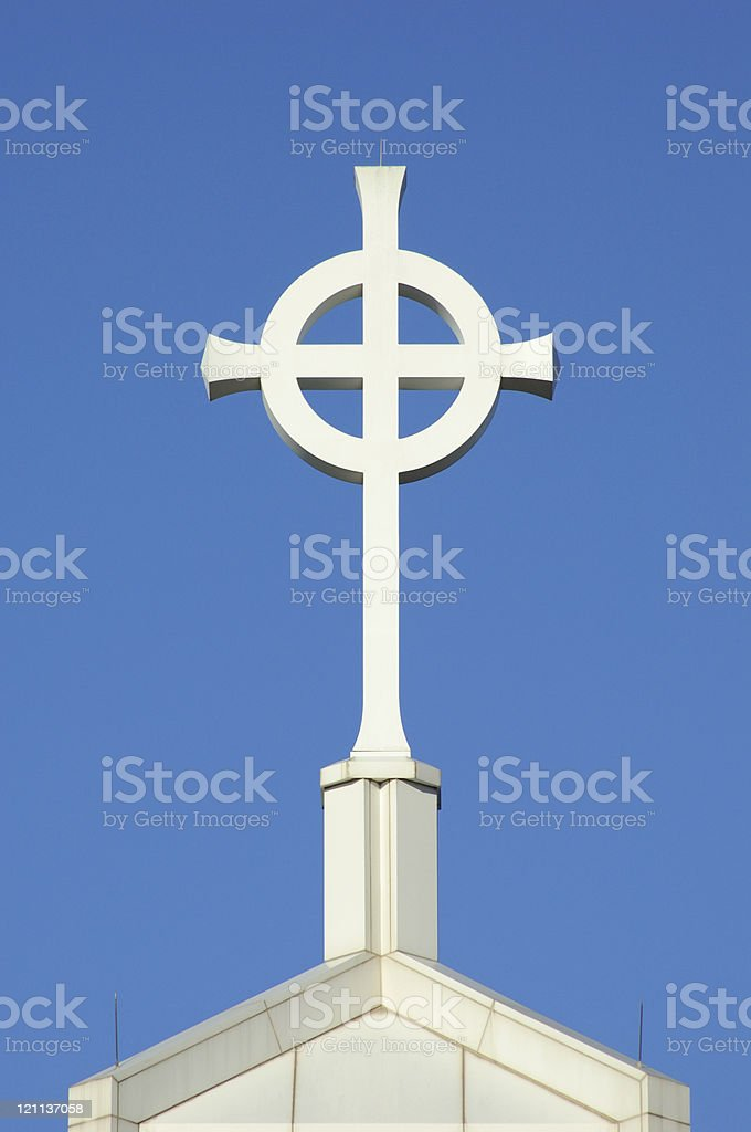 Celtic Cross 1 stock photo