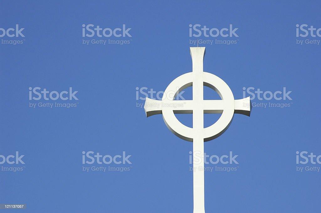 Celtic Cross 2 royalty-free stock photo