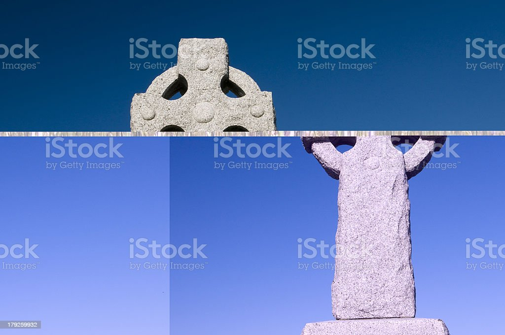 Celtic Cross royalty-free stock photo