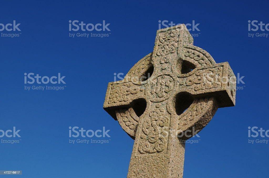 Celtic Cross, U.K. stock photo