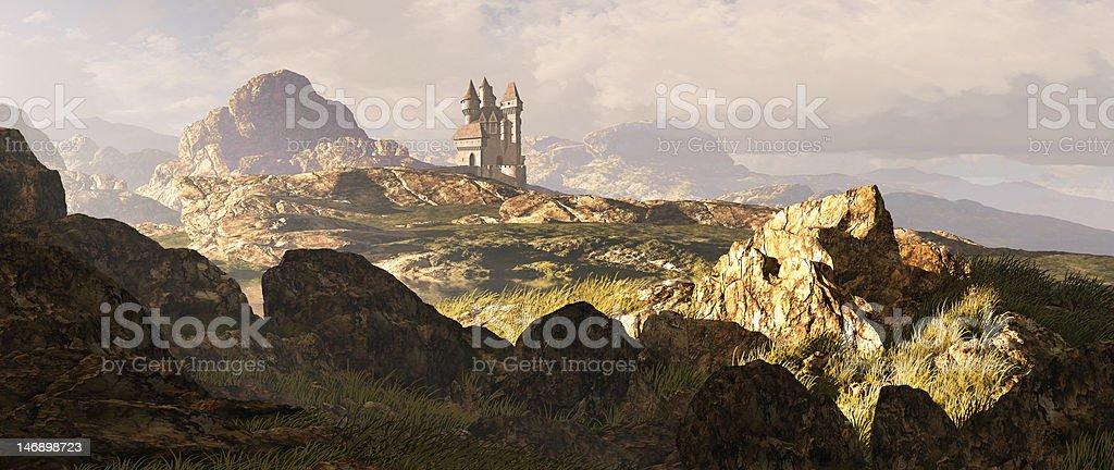 Celtic Highlands Landscape stock photo