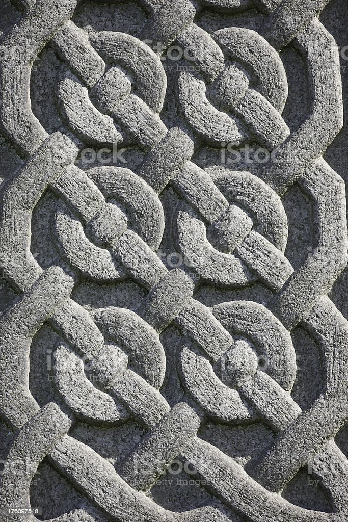 Celtic Knot Decoration stock photo