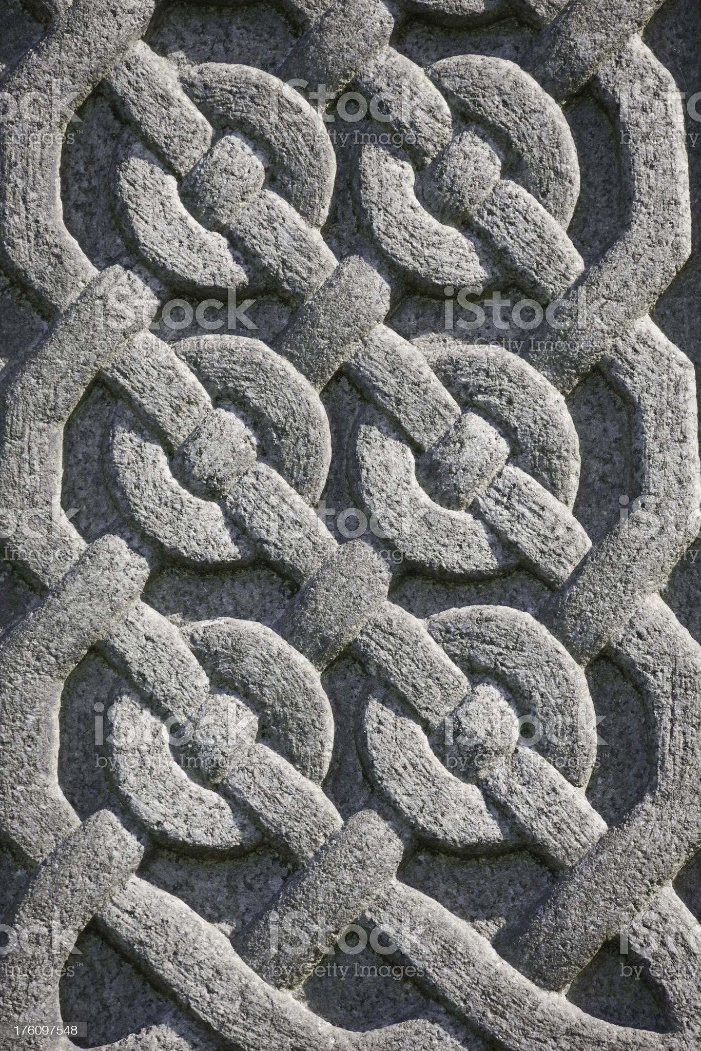 Celtic Knot Decoration royalty-free stock photo