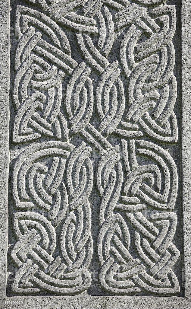 Celtic Knot Decoration stock photo