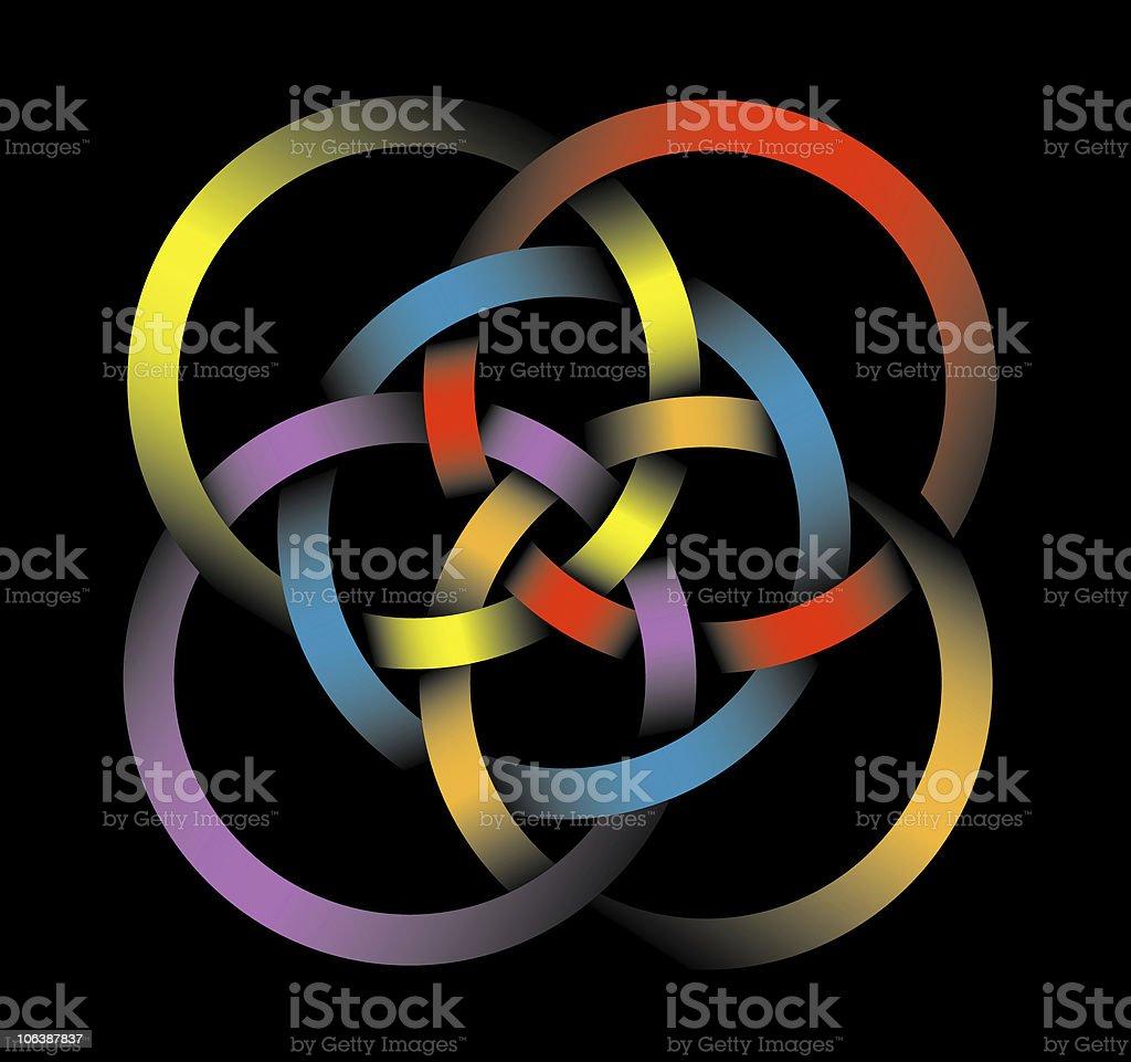Celtic Knot royalty-free stock photo