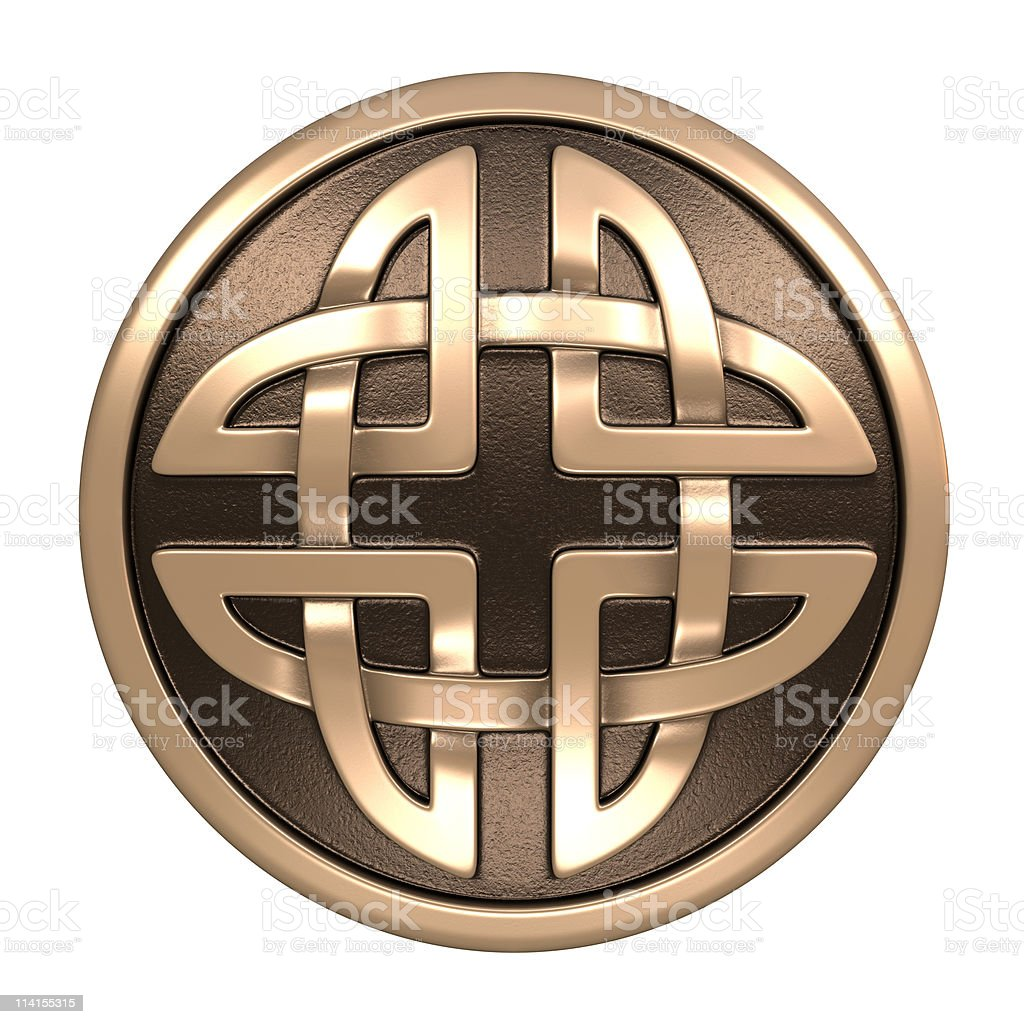 Celtic ornament royalty-free stock photo