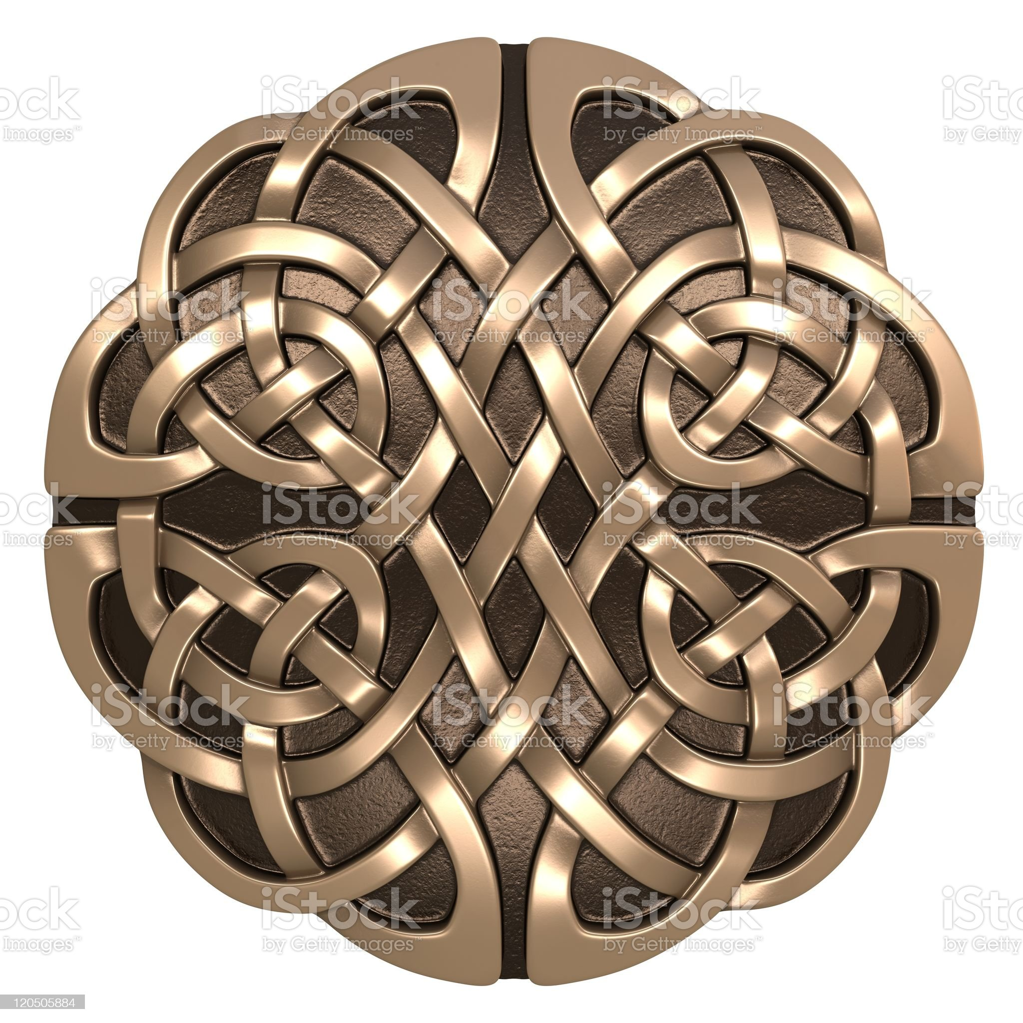 Celtic ornament royalty-free stock photo