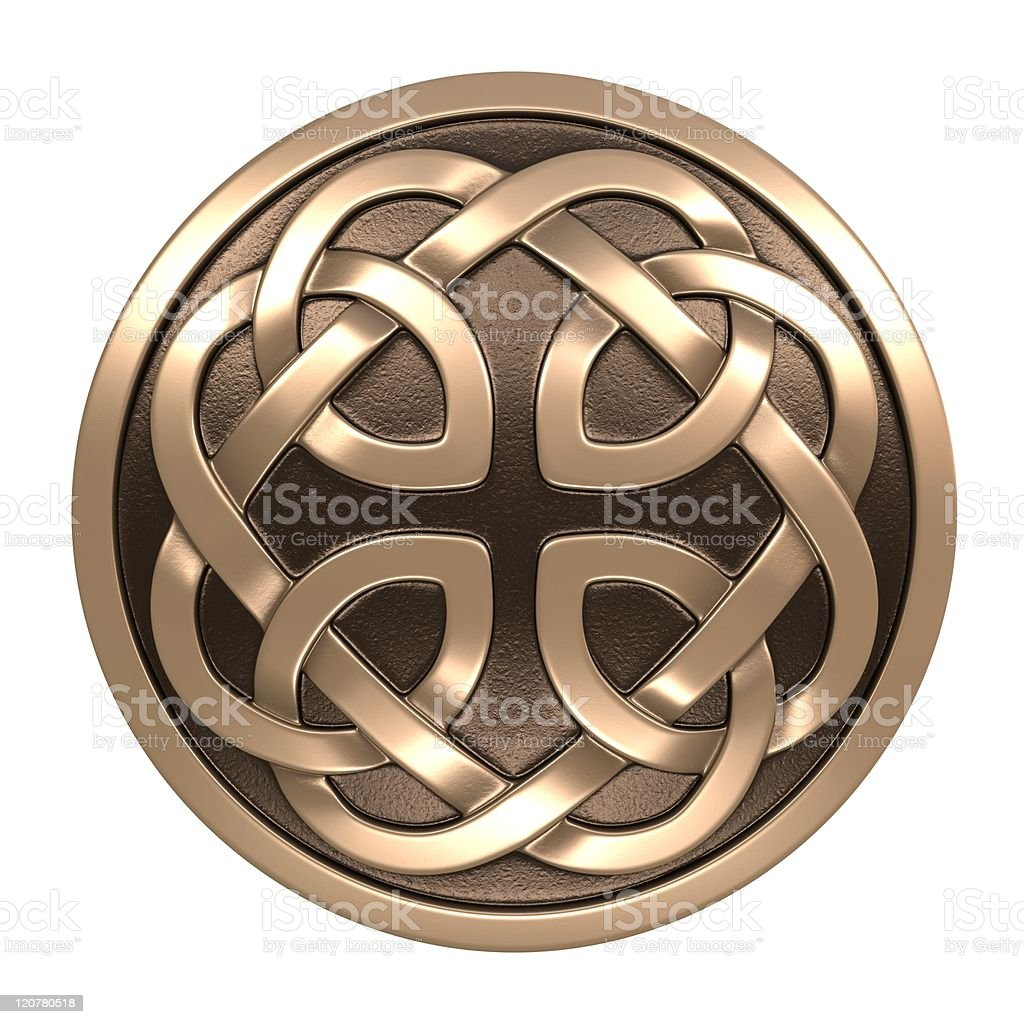 Celtic ornament stock photo