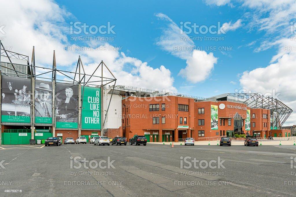 Celtic Park Glasgow stock photo