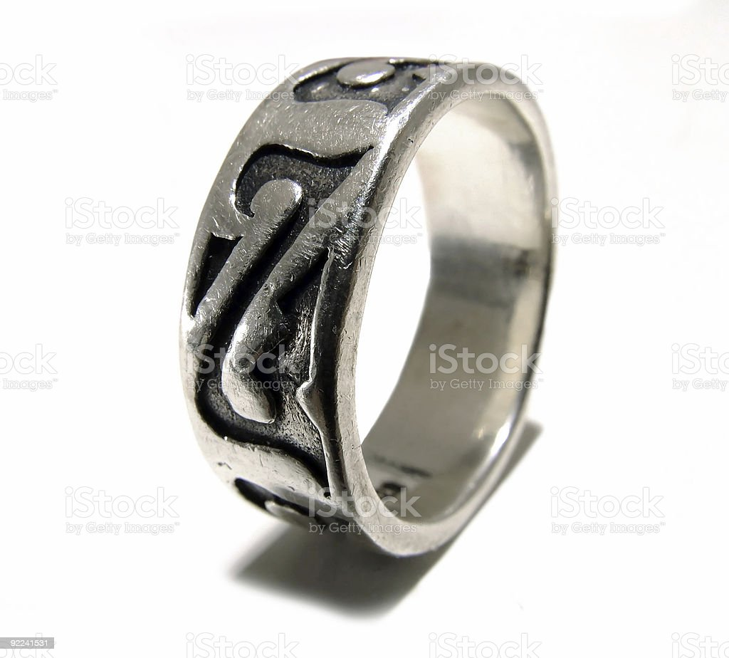 Celtic Ring royalty-free stock photo