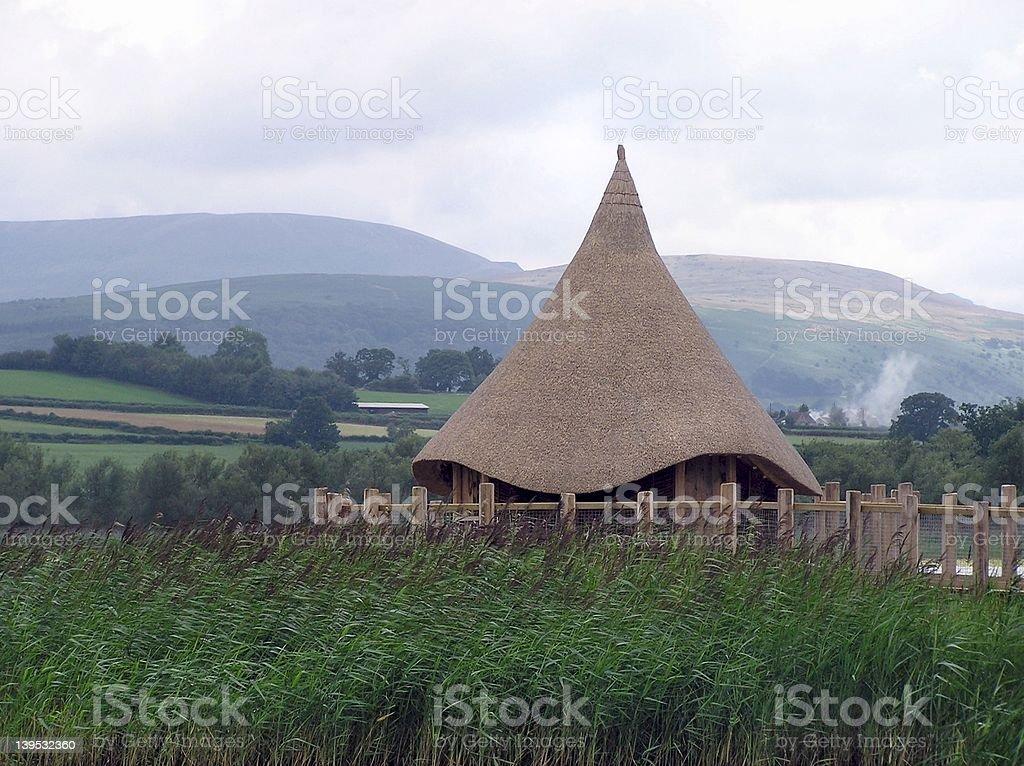 Celtic Scene stock photo