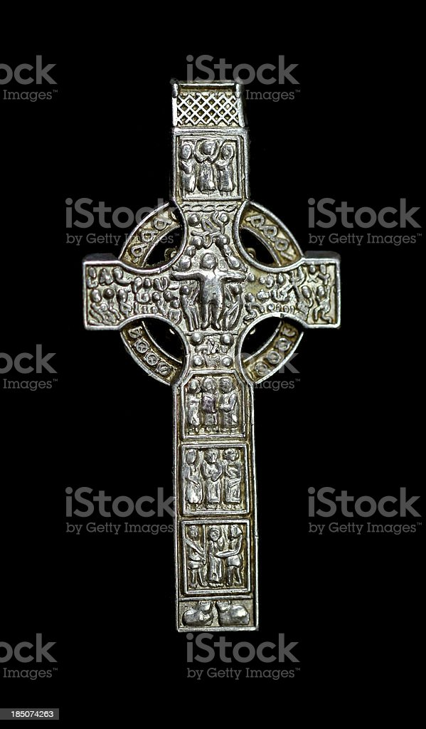 Celtic Silver stock photo