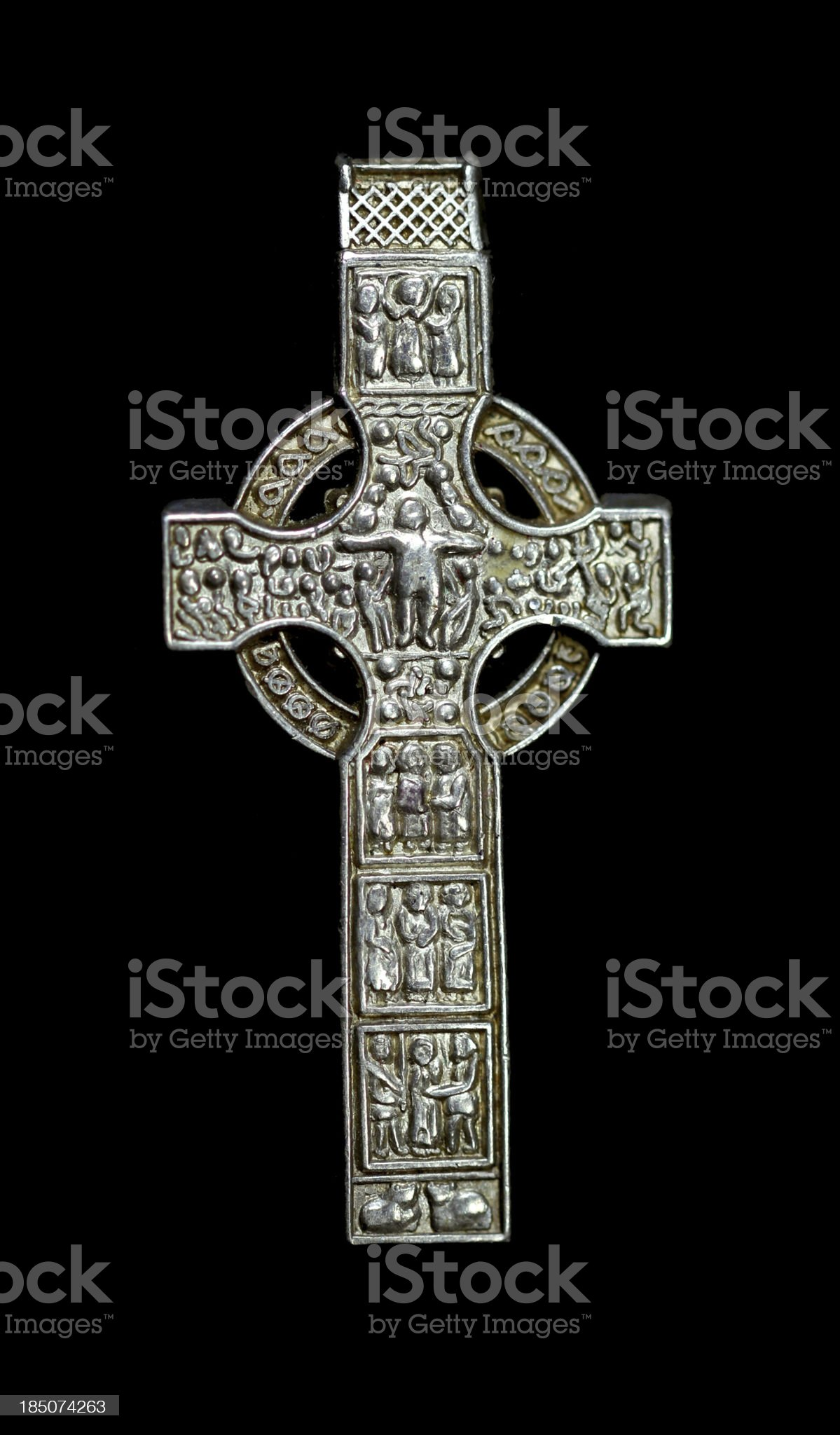 Celtic Silver royalty-free stock photo