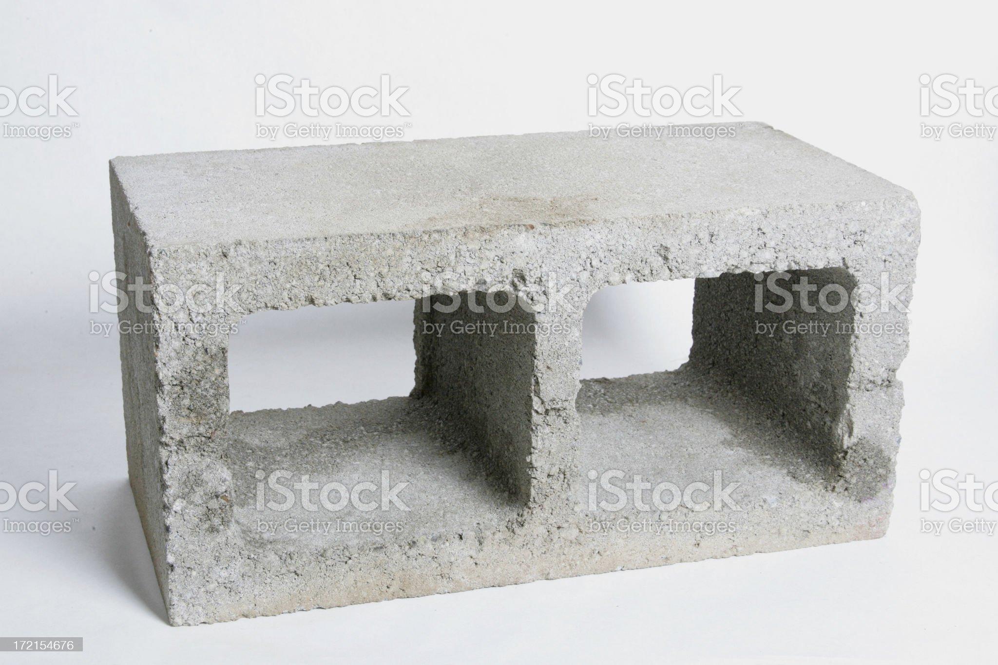 Cement Block royalty-free stock photo