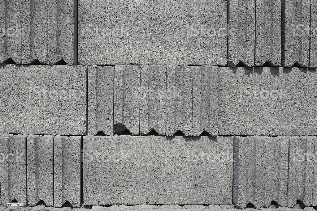 Cement block texture royalty-free stock photo