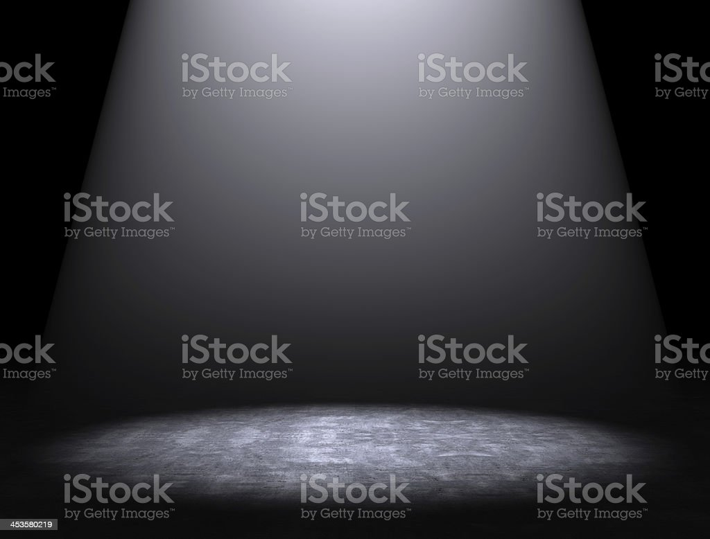 Cement floor background stock photo