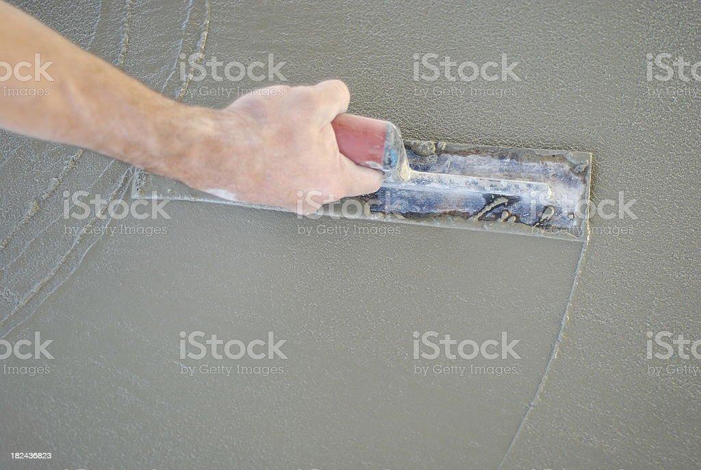 Cement Floor stock photo
