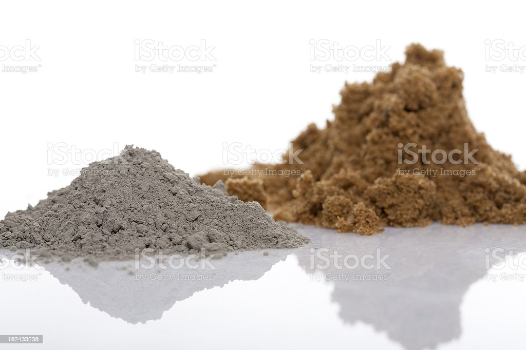 Cement. royalty-free stock photo