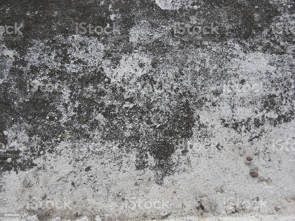Cement Roof, Mexico royalty-free stock photo