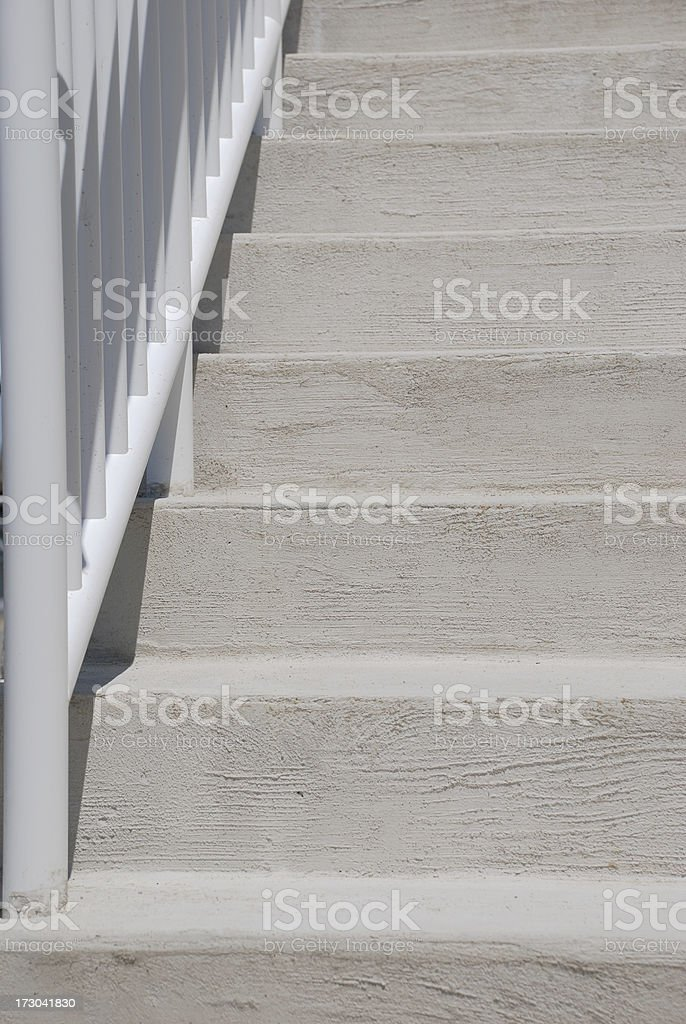 Cement steps royalty-free stock photo