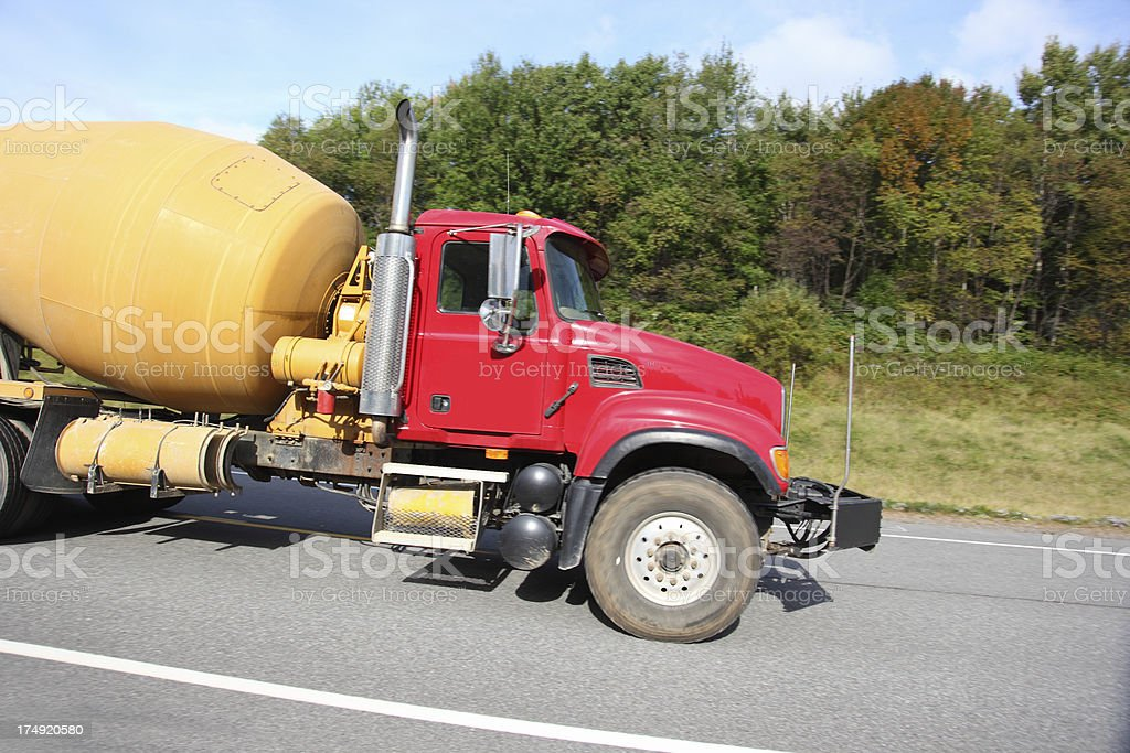 Cement Truck royalty-free stock photo