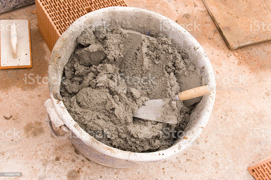 Cement Tub royalty-free stock photo